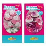 Rosen aus Esspapier 8er Pack