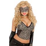 """Samt Augenmaske """"Leopard"""""""