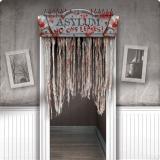 """Schauriger Tür-Vorhang """"Horror-Anstalt"""" 137 cm"""