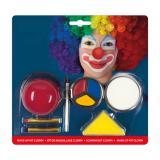 """Schminkset """"Lustiger Clown"""" 7-tlg."""