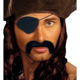 """Schnurrbart mit Augenklappe """"Pirat"""" 2-tlg."""