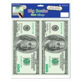 Selbstklebende Wanddeko One Hundred Dollars 2er Pack
