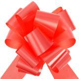 Selbstraffende Schleifen 5 cm 10er Pack-rot
