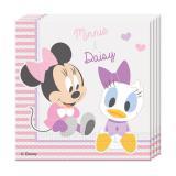 """Servietten """"Baby Minnie und Daisy"""" 20er Pack"""
