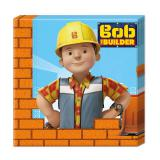 """Servietten """"Bob der Baumeister - Neue Abenteuer"""" 20er Pack"""