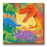 Servietten Dino-Welt 16er Pack
