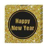 "Servietten ""Glamour New Year"" 20er Pack"