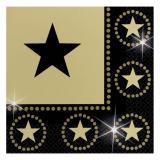 """Servietten """"Glamour Star"""" 16er Pack"""