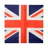 "Servietten ""Union Jack"" 20er Pack"