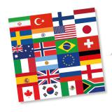 Servietten International 20er Pack