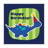 """Servietten """"Kleiner Dino"""" Happy Birthday 16er Pack"""