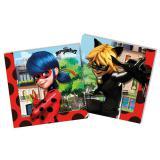Servietten Miraculous - Ladybugs Abenteuer 20er Pack