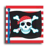 """Servietten """"Piraten-Party"""" 8er Pack"""