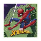 "Servietten ""Spiderman"" 20er Pack zweilagig"