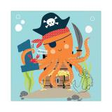 """Servietten """"Tierische Geburtstags-Piraten"""" - 1st birthday 16er Pack"""