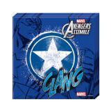 """Servietten """"Ultimative Avengers - Captain America"""" 20er Pack"""