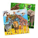 "Servietten ""Wildes Safarileben"" 20er Pack"