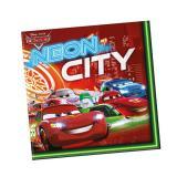 """Servietten """"Cars Neon City"""" 20er Pack"""