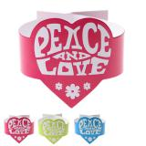 "Serviettenringe ""Peace"" 6er Pack"