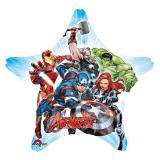 """Sternförmiger Folienballon """"Avengers"""" 81 cm"""