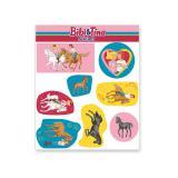"""Sticker """"Bibi und Tina"""" 8-tlg."""