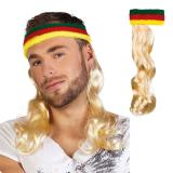 """Stirnband mit Haaren """"Bad Taste"""""""