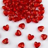 "Streuartikel ""Rote Diamanten in Herzform"" 28 g"