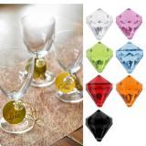 "Streuteile ""Farbenfrohe Diamanten"" 6er Pack"