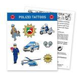 """Tattoo """"Polizei"""" 8-tlg."""