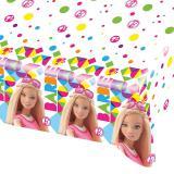 """Tischdecke """"Bunte Barbie Welt"""" 180 x 120 cm"""