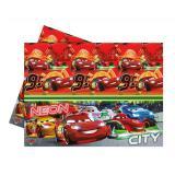 """Tischdecke """"Cars Neon City"""" 120 x 180 cm"""