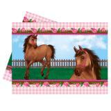 """Tischdecke """"Süße Pferde"""" 120 x 180 cm"""