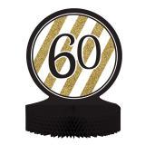 """Tischdeko """"Black & Gold 60"""" 30 cm"""