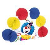 Tischdeko Jonglierender Clown mit Wabendeko 25 cm
