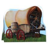 """Tischdeko """"Western-Wagon"""" 20 cm"""