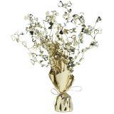 """Tischdeko """"Glamouröse Herzen"""" 38 cm-gold"""