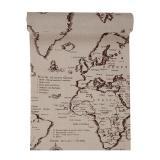 """Tischläufer """"Landkarte"""" 3 m"""
