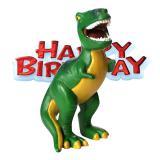 "Tortenfigur ""Dino"" Happy Birthday 2-tlg."