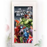 "Tür-Deko ""Avengers Assemble"" 76 x 152 cm"