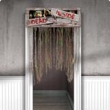 """Tür-Vorhang """"Zombie Invasion"""" 96,5 x 137 cm"""