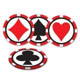 """Untersetzer """"Spielkarten Poker"""" 8-tlg."""