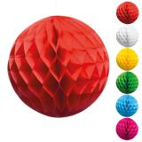 "Wabenpapier-Ball ""Farbenfroh"" 25 cm"