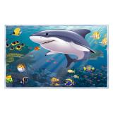 Wanddeko Blick ins Aquarium 157 cm