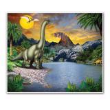 """Wanddeko""""Dinosaurier Welt"""" 1,83 m"""