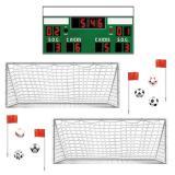 Wanddeko Fußballspiel 93 cm 13-tlg.