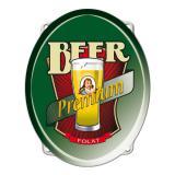 Wanddeko Premium Bier 43 cm