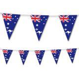 "Wimpel-Girlande ""Australische Flagge"" 3,5 m"