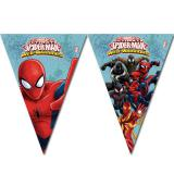 "Wimpel-Girlande ""Spiderman - Web Warriors"" 2,3 m"