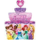 """XL Folienballon Torte """"Disney Prinzessinnen"""" 71 cm"""