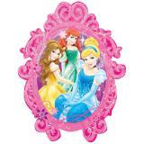 """XL Folien-Ballon """"Wunderschöne Disney Prinzessinnen"""" 78 x 63 cm"""